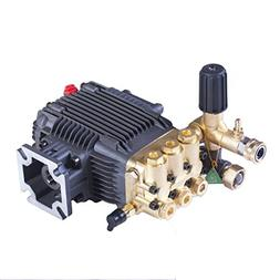 Triplex High Pressure Power Washer Pump 3.1 GPM 3000 psi 6.5
