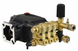 "Triplex High Pressure Washer Pump 3000 psi 6.5 HP 3/4"" Shaft"