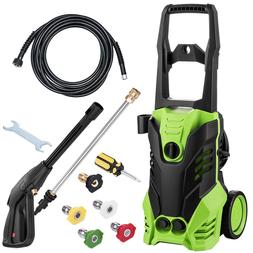 2200PSI 1800W Electric High Pressure Washer Kit Cleaner Mach