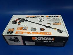 WORX WG629 Cordless Hydroshot Portable Power Cleaner 20V Li-